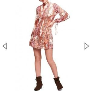 NWT Free People All Dolled Up Minidress